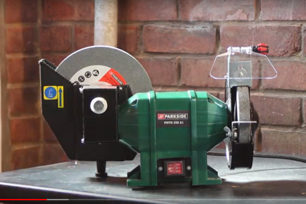 A bench grinder for my workshop.