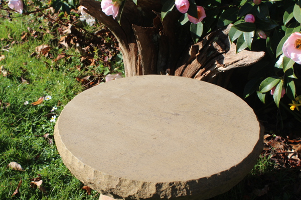 Making a York stone stepping stone